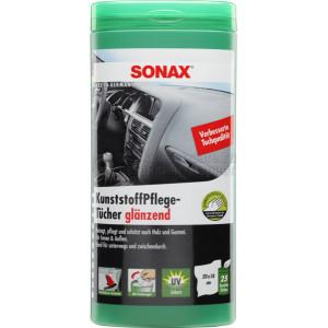Салфетки для чистки пластика Sonax, 25шт.