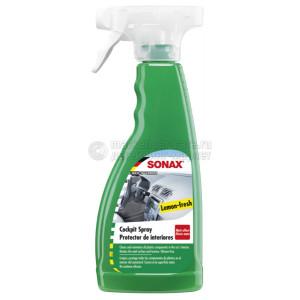 """Очиститель-полироль для пластика Sonax """"Матовый эффект Лимон"""", 0.5л"""
