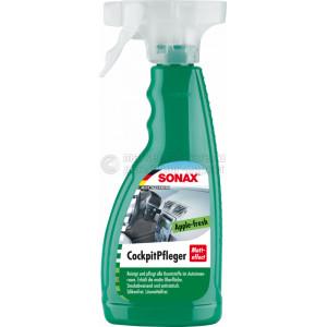 """Очиститель-полироль для пластика Sonax """"Матовый эффект Яблоко"""", 0.5л"""