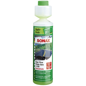 """Стеклоомыватель концентрат 1:100 Sonax аромат """"яблоко"""", 0.25л"""