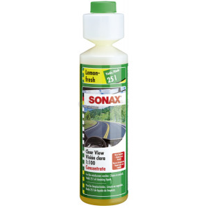 """Стеклоомыватель концентрат 1:100 Sonax аромат """"лимон"""", 0.25л"""