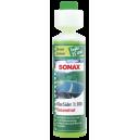 """Стеклоомыватель концентрат 1:100 Sonax аромат """"зеленый лимон"""", 0.25 л"""