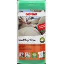 Салфетки Sonax для очистки кожи в тубе