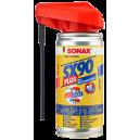 Многофункциональная проникающая смазка Sonax SX-90 с головкой 360, 0.1 л