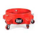 Низкая тележка без бортиков на колесиках Chemical Guys «Bucket Dolly»