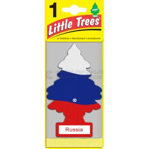 "Ароматизатор CAR FRESHNER Little Trees Ёлочка ""Российский флаг"" (Russian Flag)"
