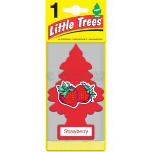 "Ароматизатор CAR FRESHNER Little Trees Ёлочка ""Клубника"" (Strawberry)"