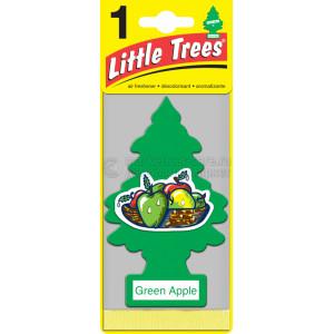 """Ароматизатор CAR FRESHNER Little Trees Ёлочка """"Зелёное яблоко"""" (Green Apple)"""