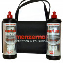 Высокоабразивная полировальная паста Menzerna Super Heavy Cut Compound 300, 1л*2шт + фирменная сумка Menzerna