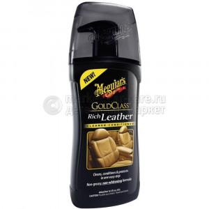 Очиститель и кондиционер для кожи Meguiar's GC Rich Leather Cleaner / Conditioner, 400мл