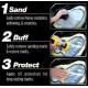 Набор для полировки фар Meguiar's Heavy Duty Headlight Restoration Kit