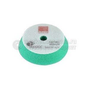 Полировальный поролоновый диск RUPES средней жесткости зеленый 80/100мм