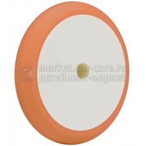 "Оранжевый пад ""№1"" Hi-Tech ORANGE FOAM HD HEAVY CUT PAD для полировки ЛКП, 180мм"