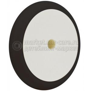 """Черный финишный пад """"№4"""" Hi-Tech BLACK FOAM HD FINAL FINISH PAD для полировки ЛКП, 180мм"""