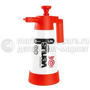 Накачной помповый пульверизатор - Kwazar Sprayer Venus Super PRO+HD ACID V-1,5 (красный)