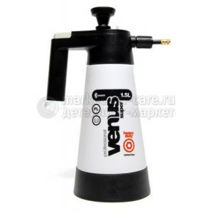Накачной помповый пульверизатор - Kwazar Sprayer Venus Super PRO+HD Solvent 1,5 (черный)