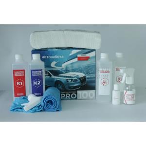 Защитное, гидрофобное покрытие для стекла Автозабота PRO100