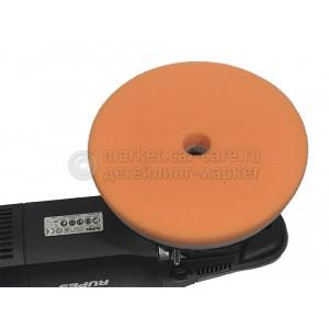 Оранжевый полирующий полировальный круг LakeCountry, d155/165мм