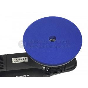 Синий режущий полировальный круг Lake Country, d155/165мм