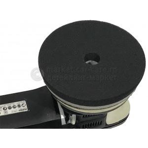 Черный финишный полировальный круг LakeCountry, d130/140мм