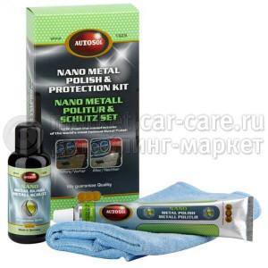 Набор для полировки и нанозащиты металла Autosol