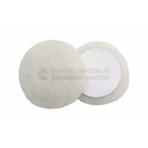 150 мм FlexiPads экстра режущий меховой круг Ultimate Merino из цельной овчины (ворс 32 мм)