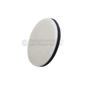 Полировальный меховой круг flexipad Merino Wool PRO-Wool Detailing GRIP Pad,160 mm
