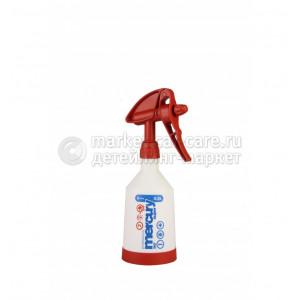 Накачной - курковый помповый пульверизатор Kwazar Mercury SUPER 360 PRO+ V0,5 Viton Red (красный)