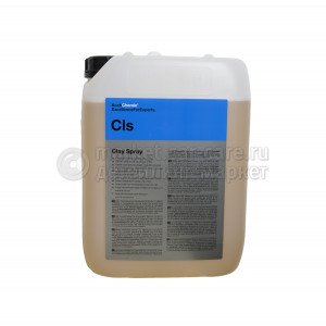 Лубрикант для глины и автоскрабов Koch Chemie Clay Spray, 10 L