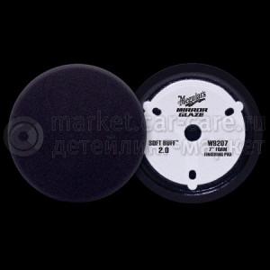 Полировальный круг Meguiar's Soft Buff 2.0 Foam Finishing Pad W9207 (черный)