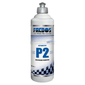 Финишная полировальная паста FACDOS P2 - Антиголлограмная паста, 0.5 л