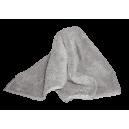Микрофибровое полотенце FACDOS MX - 2-х стор. микрофибра серая. 40*40 см.