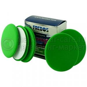 Зеленый среднежесткий полировальный круг Facdos Freshpads, 150 мм уп 5 шт