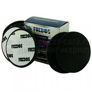 Черный мягкий полировальный круг Facdos Freshpads, 150 мм уп 5 шт