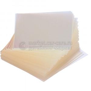 Пластинки светопроницаемые квадратные (Poly).100 шт