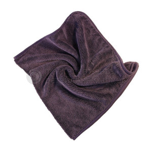 Микрофибровое полотенце для сушки авто AuTech MAGIC DRY 50*80 см, ПУРПУРНОЕ, 600гр/м2