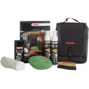 Набор по уходу за кожей Sonax PremiumClass LeatherCareSet / LeatherCleaner