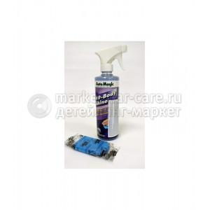 Набор Auto Magic CLAY MAGIC BLUE BULK 100г + Лубрикант 49r 473мл