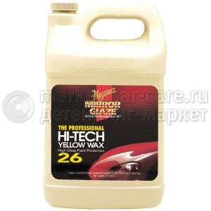 Защитный состав Meguiar's Hi-Tech Yellow Wax М26, 3,78л