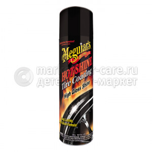 Meguiar's Спрей, придающий шинам блеск Hot Shine Tire Coating, 425g