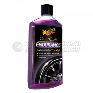 Профессиональный гель-кондиционер для шин Meguiar's Endurance High Gloss, 473мл