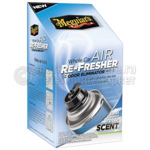 """Нейтрализатор запахов в салоне а/м Meguiar's Air Refresher - Summer Breeze """"Летний Бриз"""" , 74мл"""