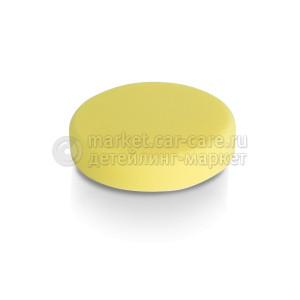 Желтая полутвердая полировальная подушка Koch Chemie SCHLEIFSCHWAMM GELB, MITTELHART 130x30 мм