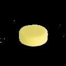 Желтая полутвердая полировальная подушка Koch Chemie SCHLEIFSCHWAMM GELB, MITTELHART 80x30 мм