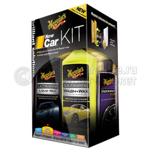 Набор для ухода за автомобилем Meguiar's Brilliant Solutions New Car Kit