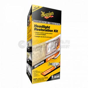 Полный набор для абразивного восстановления фар Meguiar's Heavy Duty Headlight Restoration Kit NEW