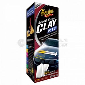 Очищающий набор с эффектом полироля Meguiar's Smooth Surface Clay Kit