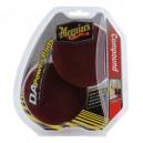 Набор для полировки Meguiar's D/A Power System Cutting Pad Pack (бордовые режущие поролоновые круги)