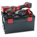 Ротарная полировальная машина на аккумуляторе FLEX PE 150 18.0-EC/ 5.0 Set