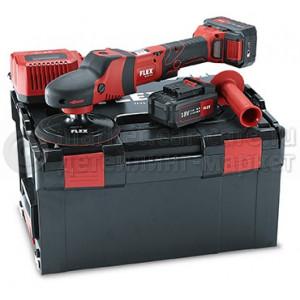 Роторная полировальная машина на аккумуляторе FLEX PE 150 18.0-EC/ 5.0 Set